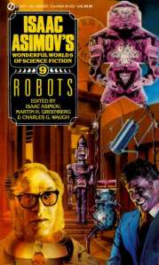 Robots, Isaac Asimov's Wonderful Worlds of Science Fiction vol 9 - cover